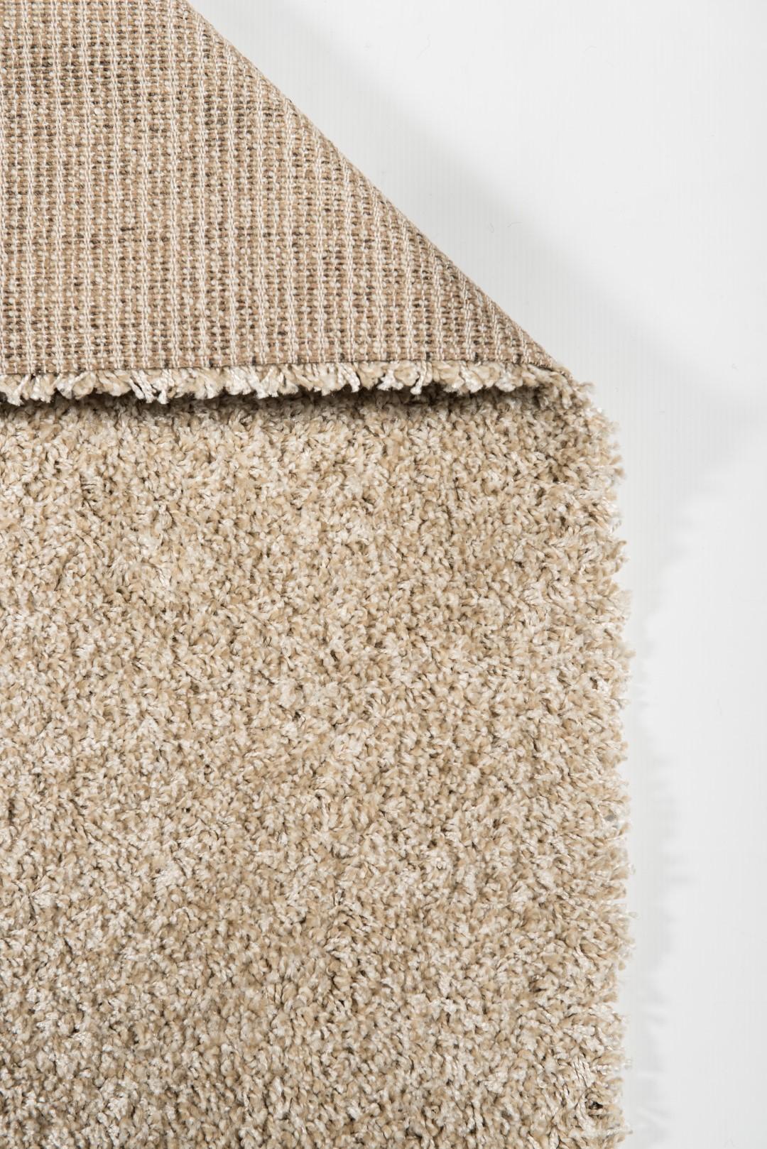 Melange high pile carpet Denim - WHT