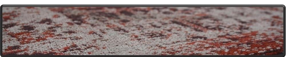 Jacquard geweven katoen/chenille medaillon motief