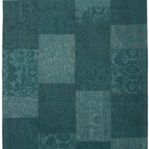 Collage low pile carpet Aqua