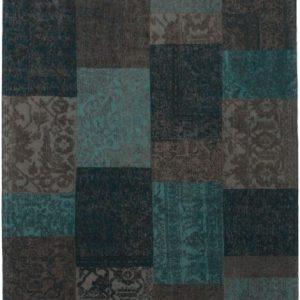 Collage low pile carpet Ocean