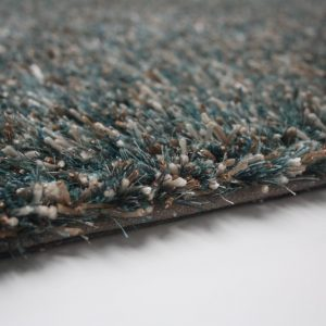 Melange high pile carpet Aqua
