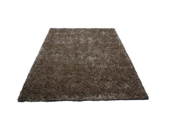 Melange high pile carpet Silver - WHT