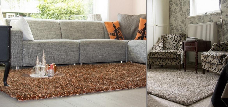 Populair, eigentijds en trendy hoogpolig karpet. De finishing touch in iedere woonomgeving.