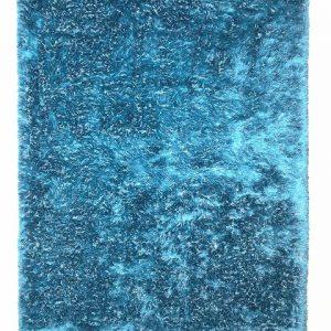Wagner hoogpolig vloerkleed Blue