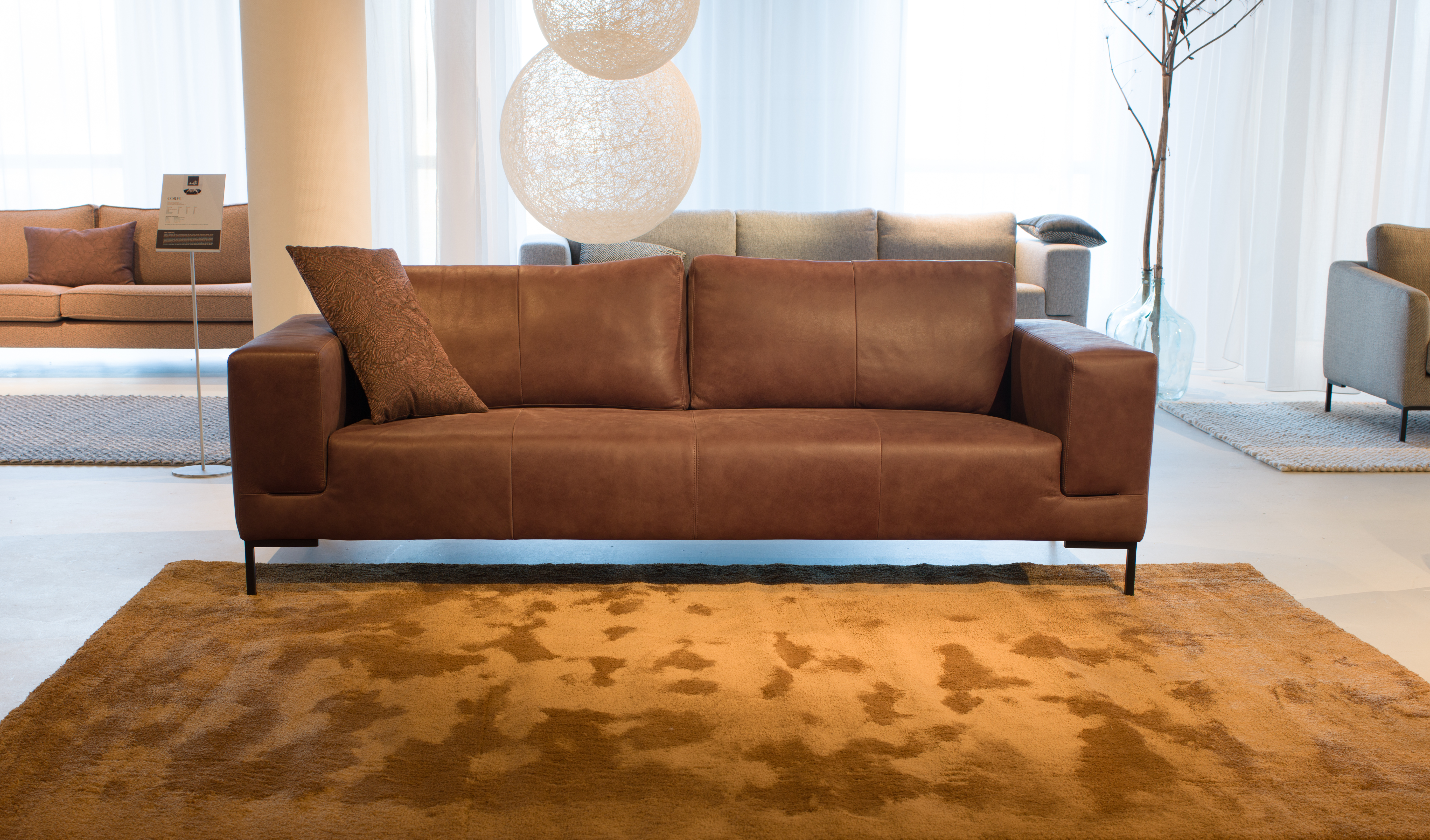 Machinal woven high pile shaggy, 30 mm.