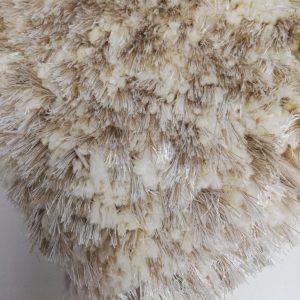Dallas hoogpolig vloerkleed ivory
