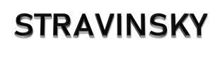 logo STRAVINSKY