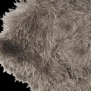 Pacific hoogpolig vloerkleed Grijs